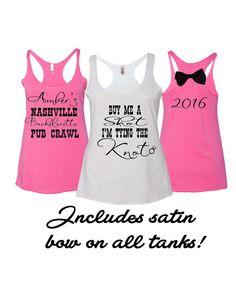 9 Bachelorette Party Tank Top Buy me a shot I'm by Bridalmefancy