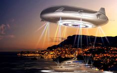 Get ready for Halo, a proposed residential airship with a living area the size of four football pitches and an estimated cost of $330 million. Make your reservations today!