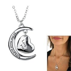 To the Moon & Back Necklace at The Veterans Site