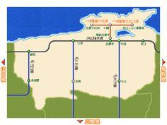 「鳥取の路線図wwwwwwwwwwww」の画像 : 哲学ニュースnwk