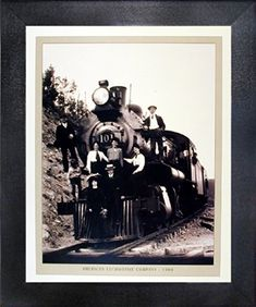 Impact Posters Gallery presents this unique 1904 steam train engine vintage locomotive railway wall décor framed poster will surely grab your attention instantly. Steam locomotive was built in 1904 by an American locomotive company. It was used on Southern railway in regular freight services until, It was get retired in the year 1952.