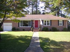 Boring Brick Ranch, Plain 1950s brick ranch w/white trim needs ideas (color, landscaping) to spruce up on a budget. Looking for ideas to imp...