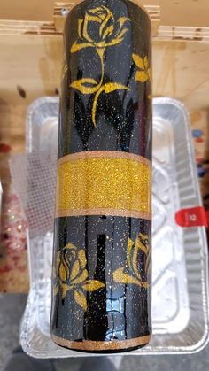 Vinyl Tumblers, Glitter Tumblers, Custom Tumblers, Custom Yeti, Project Ideas, Craft Ideas, Insulated Mugs, Glitter Crafts, Yeti Cup