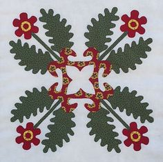 Baltimore on the Prairie teacher Jeana Kimball explains her 3 day applique class Floral Delight.