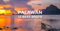 Where to go in Palawan? This travel guide blog takes you to top tourist spots, best places to visit, must-see attractions & beautiful places for 2018.