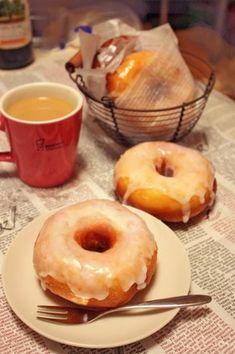 Donut Recipes, Tart Recipes, Sweets Recipes, Baking Recipes, Copycat Recipes, Cute Desserts, Asian Desserts, Yummy Waffles, Homemade Sweets
