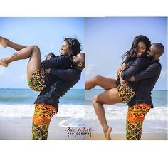 When love comes, it comes without effort like the perfect weather 😍💙…creatively captured by Couples African Outfits, Couple Outfits, Family Outfits, African Attire, African Wear, African Dress, African Inspired Fashion, African Fashion, Black Couples
