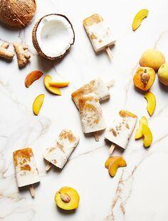 Peach Bourbon Pops | Anthro Blog