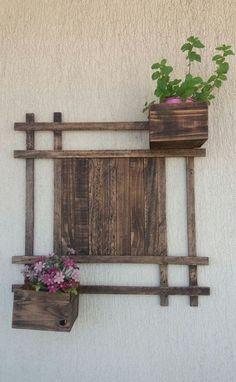 Floreira vertical - sustentabilidade