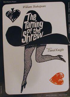 Polish Poster: Taming of the Shrew