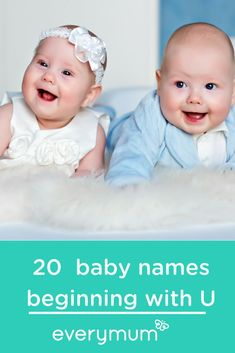 20 Unique Baby Names Beginning With The Letter U. These are not your average names but if you like names that are a little different, this is the list for you! Find a unique name for your baby starting with the letter U. Celtic Baby Names, Irish Baby Names, Baby Girl Names Spanish, Baby Names Short, Vintage Baby Names, Unique Baby Names, Celebrity Baby Names, Celebrity Babies, Slimming World
