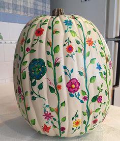 Pumpkin Art, Pumpkin Crafts, Marker Art, Fall Halloween, Design Art, How To Draw Hands, The Originals, Home Decor, Decoration Home