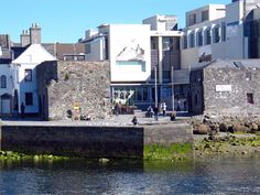 Beside the Spanish Arch, Galway. More photos of Galway at http://www.galwayphotographs.com and http://www.galwayphotographssite.com  #photographs #Galway #galwayphotographs #irishphotographs