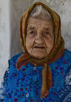 Old Hungarian lady.