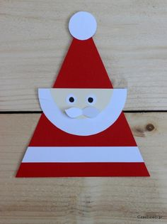 Christmas Art For Kids, Christmas Paper Crafts, Preschool Christmas, Paper Crafts For Kids, Noel Christmas, Christmas Crafts For Kids, Christmas Activities, Christmas Cards, 1 Advent
