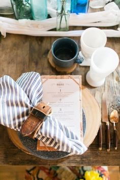 Southwestern table decor: http://www.stylemepretty.com/living/2015/05/15/tassels-and-tastemakers-wild-west-inspired-party/ | Photography: Troy Grover - http://troygrover.com/