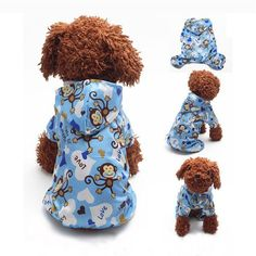 Monkey Hoodie Sweater for Small Dogs and Puppies