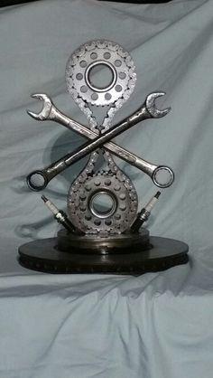 Car show trophy,  I built. acroclassick69@aol.com  Beau Stevenson