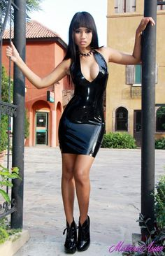 Asian Babes In Latex