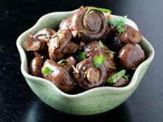 Roasted Mushrooms w/ rosemary and garlic