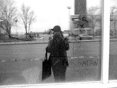 Street Art named Desire.: Hail myself! Bnw self portrait at Sörnäisten rantatie, Suvilahti Mural Wall Art, Rocky Horror, Banksy, Helsinki, Urban Art, Black And White Photography, Street Photography, Graffiti, Portrait