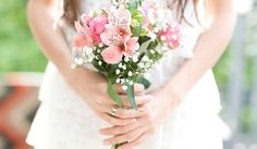 ramos de novia color durazno - Buscar con Google