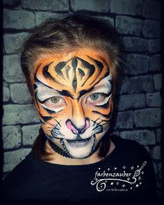 Tiger facepaint Airbrush, Body Art, Carnival, Face, Kids Makeup, Bodypainting, Mardi Gras, Carnivals, Faces