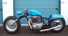 DUCTCH TRASH CHOPPER # 1972 Yamaha Xs 650