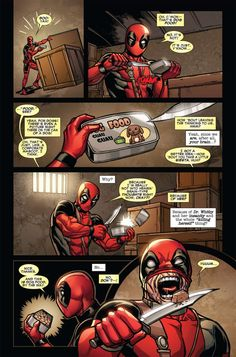 Deadpool never listens to his brain