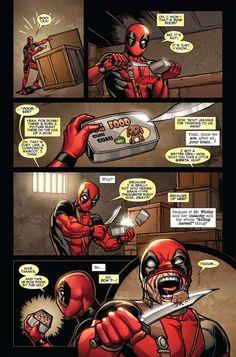 Deadpool never listens to his brain