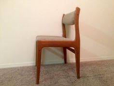 Mid-Century Modern Benny Linden Teak Chair with by AtlasMidcentury