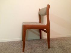 Mid-Century Modern Benny Linden Teak Chair with by AtlasMidcentury