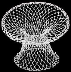 Fishnet Chair by Marcel Wanders