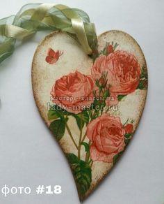 Интерьерное сердце-валентинка своими руками, фото