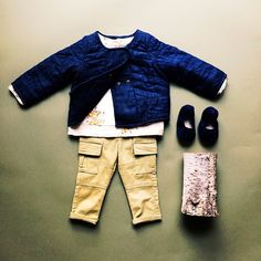 play in quilted denim jackets and skinny cargos. Baby Gap