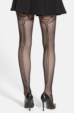 Erica M. 'Genevive' Fishnet Tights