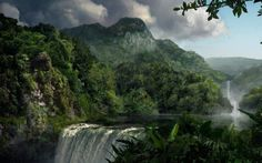 Waterfall Widescreen Right Click and Choose set as HD Desktop Wallpaper