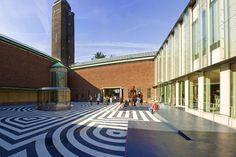 courtyard Museum van Boijmans Beuningen: One of the oldest museums in the Netherlands,
