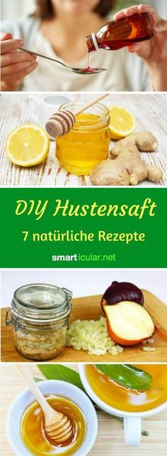 7 Rezepte für selbst gemachten Hustensaft: Natürlich heilsam You can safely save cough medicine from the pharmacy! Instead, use the healing powers of nature with these cough syrup recipes. Natural Remedies For Arthritis, Natural Health Remedies, Natural Cures, Cough Medicine, Herbal Medicine, Homemade Cough Syrup, Flu Remedies, Homeopathic Remedies, Health Cleanse
