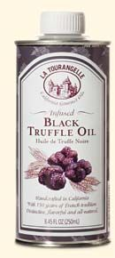 La Tourangelle Black Truffle Oil is my go to, to spruce up roasted brussel sprouts, asparagus...really any roasted vegi