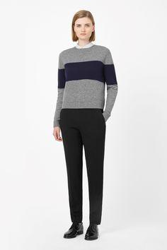 COS | Block stripe wool jumper