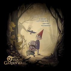 Over The Garden Wall by GDSalvato
