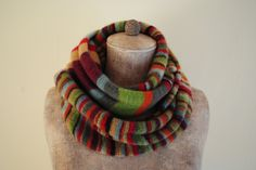 Stripes and stripes scarf