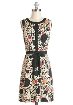 Perfect Circles Dress, @ModCloth