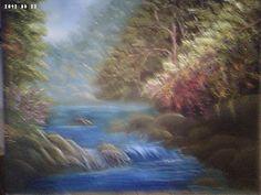 Solange Gama Coelho: Pintura em Tela,Tecido,Cursos-9196-6422(Claro),9854-3743(Tim)-Curitiba: Paisagem -oleo sobre tela