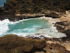 """Amazing hidden beach on the coast of Oahu. This was the beach from the movie """"From Here to Eternity""""    Honolulu, HI"""
