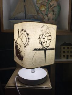paper cut & lamp