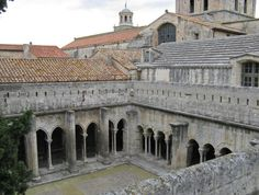 Cloisters in Arles France