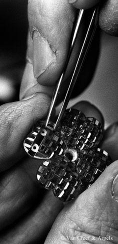 Craftsmanship - Mystery Setting™ by Van Cleef & Arpels.