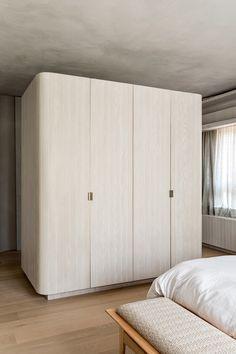 Terrazzo Flooring, Apartment Interior, Sliding Doors, Contemporary, Living Room, Architecture, Design, Furniture, Condos